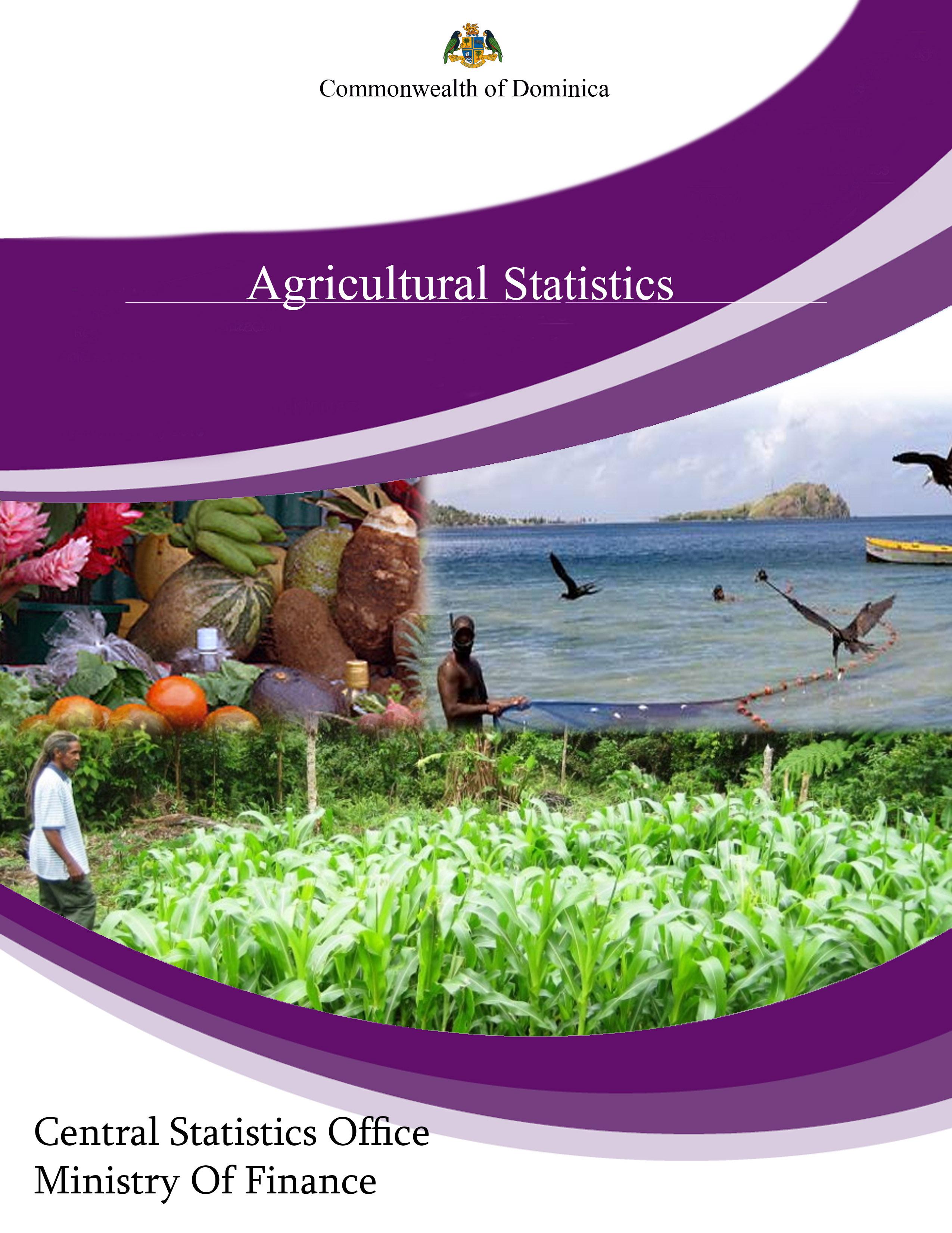 Agricultural Statistics (pdf 1 MB)